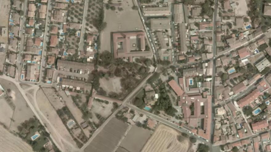 Vista aérea de Cubas de la Sagra