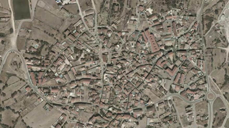 Vista aérea de El Vellón