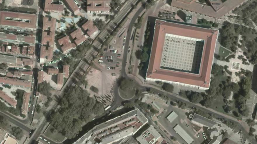 Vista aérea de Leganés
