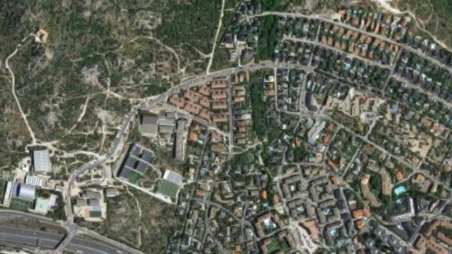 Vista aérea de torrelodones