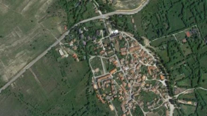 Vista aérea de Alameda del Valle