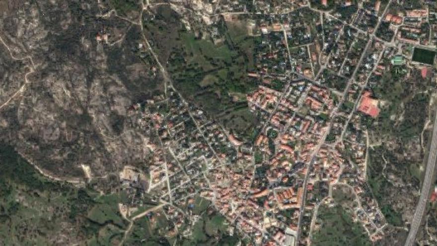 Vista aérea de La Cabrera