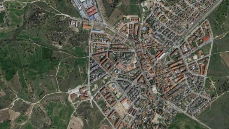 Vista aérea de sevilla_la_nueva