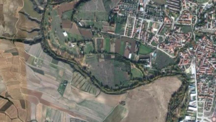 Vista aérea de Talamanca de Jarama