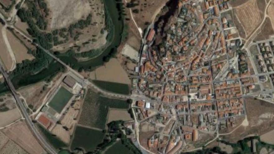 Vista aérea de Titulcia
