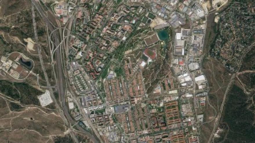Vista aérea de Tres Cantos