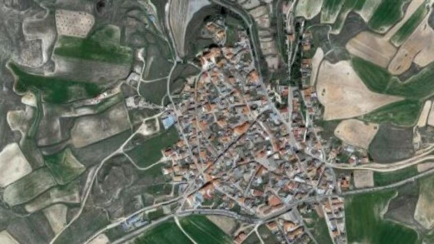 Vista aérea de valdaracete