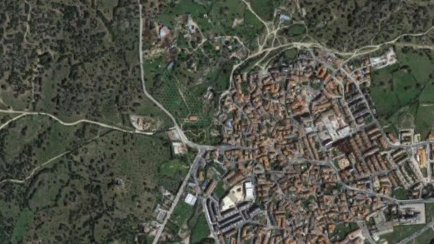 Vista aérea de valdemorillo