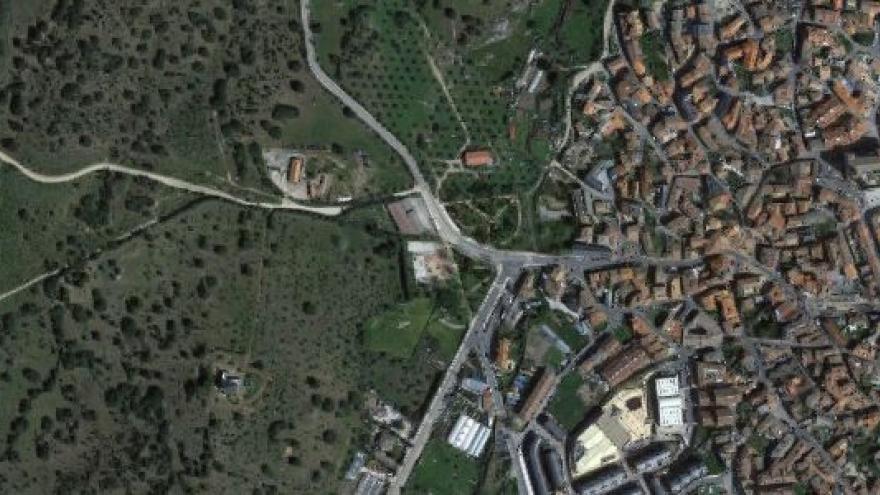 Vista aérea de valdemoro