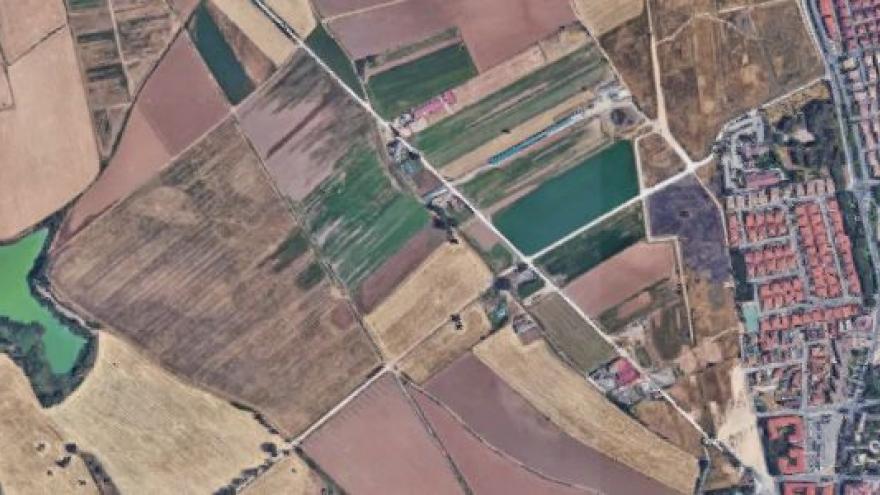 Vista aérea de Velilla de San Antonio