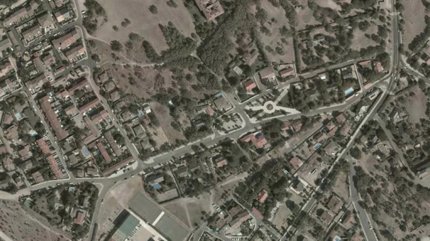 Vista aérea de Los Molinos