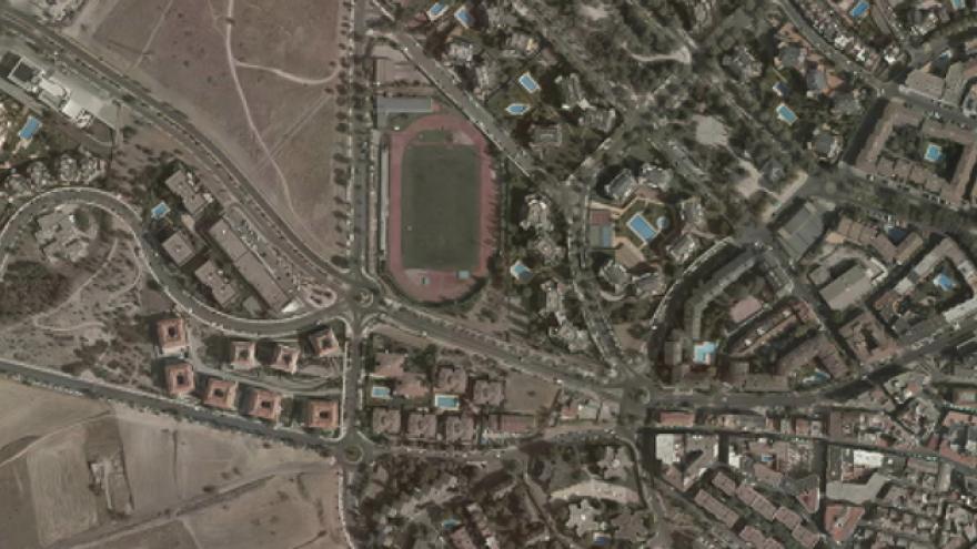 Vista aérea de Majadahonda