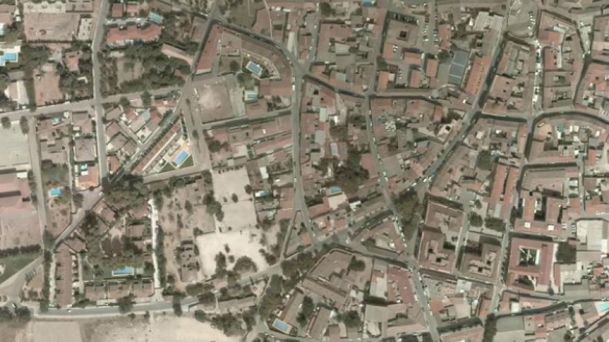 Vista aérea de Morata de Tajuña