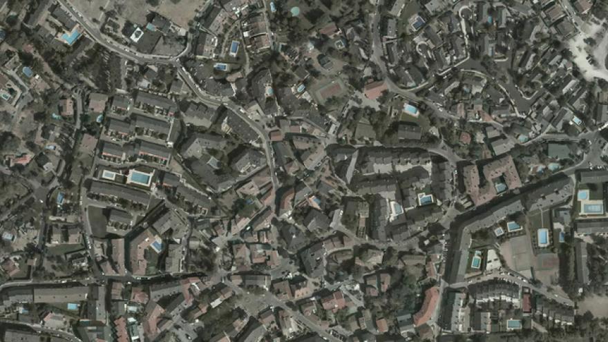 Vista aérea de Navacerrada