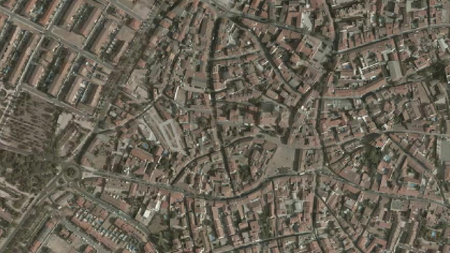 Vista aérea de Navalcarnero