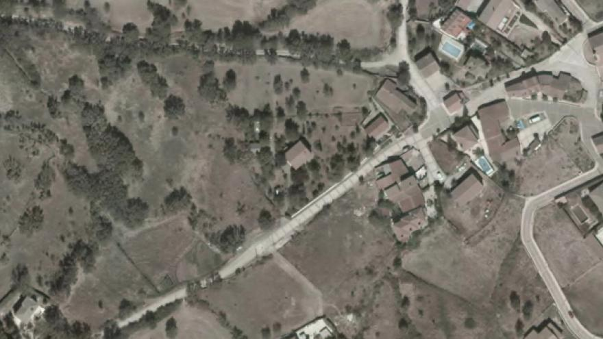 Vista aérea de Navarredonda y San Mamés