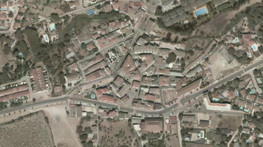 Vista aérea de Perales de Tajuña