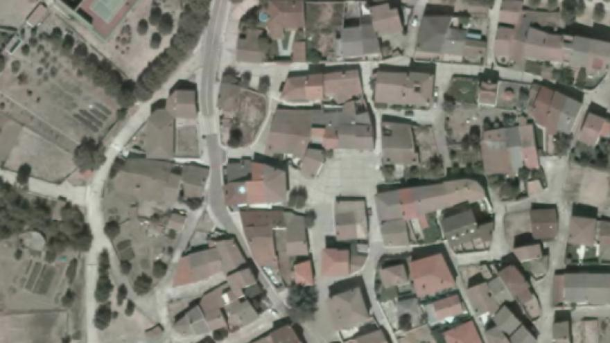 Vista aérea de Robledillo de la Jara