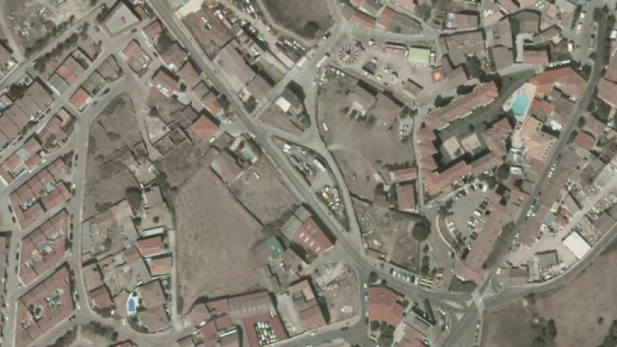 Vista aérea de Robledo de Chavela