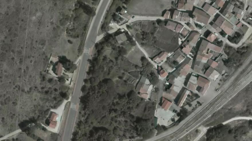 Vista aérea de Robregordo