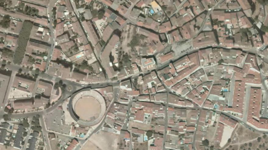 Vista aérea de San Martín de Valdeiglesias