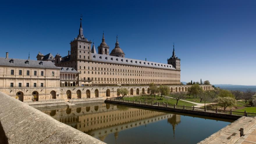 Una imagen del Real Monasterio de  El Escorial