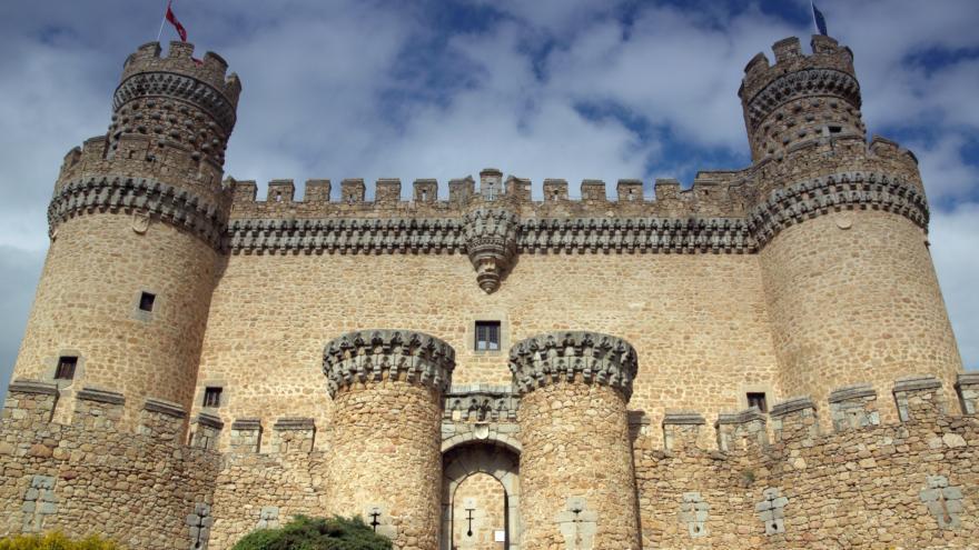 Juan Guas. Castillo de Manzanares el Real. (Fuente: Natalia Moreno).