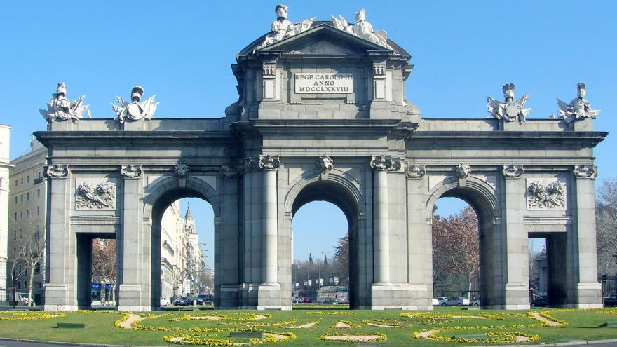 Puerta de Alcalá. Madrid