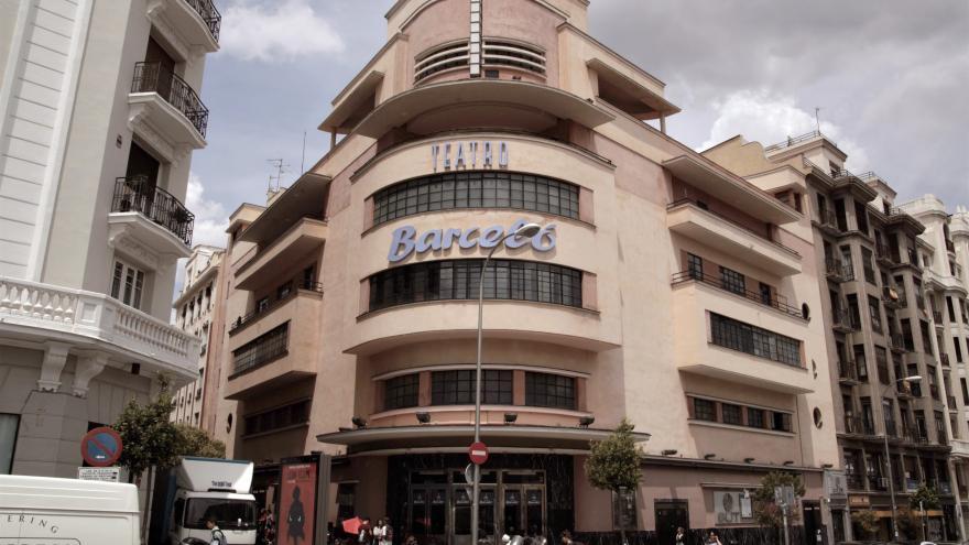 Cine Barceló. Madrid.