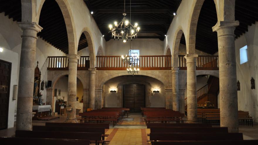 Interior de la Iglesia parroquial de Pozuelo del Rey