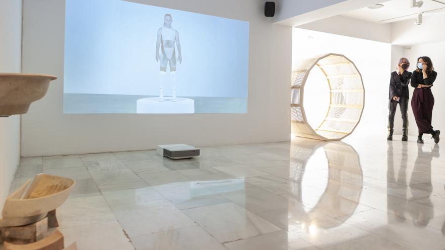 Una muestra de la Sala de Arte Joven de Ana J Revuelta