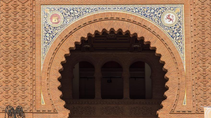 Arco neomudejar Plaza de Toros de las Ventas