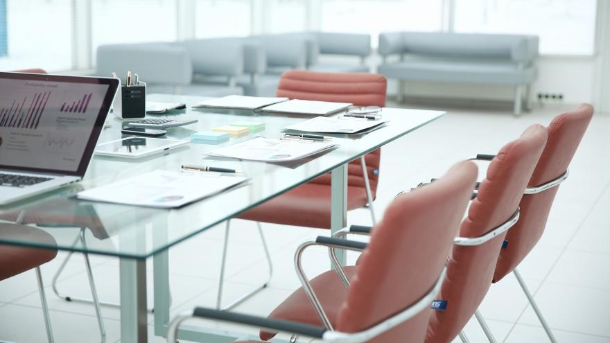 Sala de reuniones en una oficina
