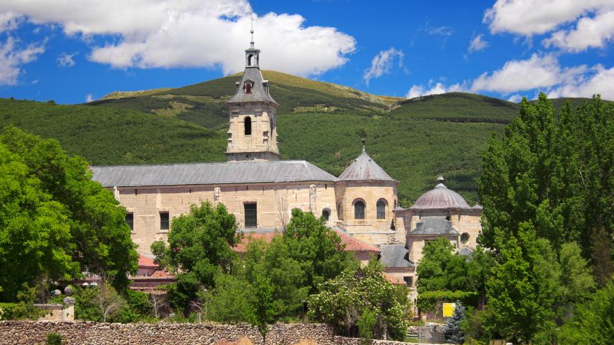 El Monasterio de El Paular en Rascafría