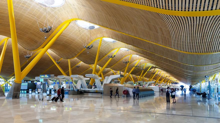 Una instantánea del Aeropuerto de Madrid-Barajas