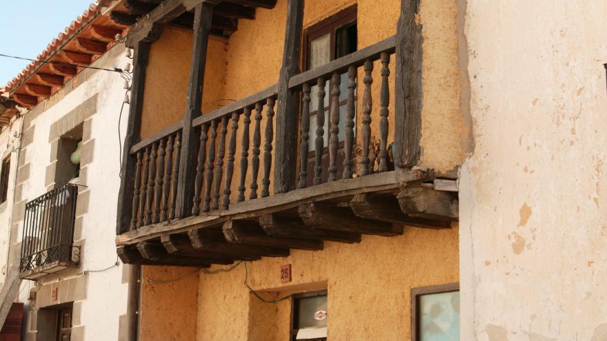 Una casa del municipio de Montejo de la Sierra