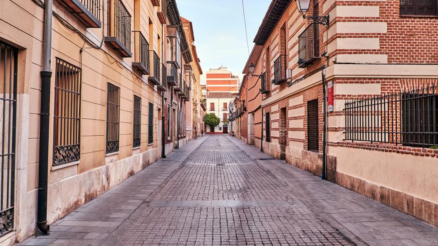 Calle en Alcalá de Henares