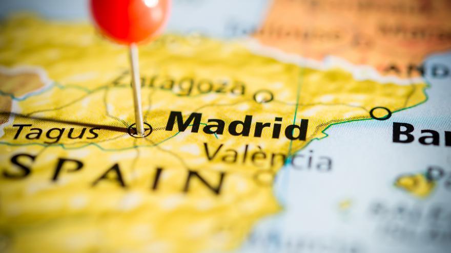 Madrid en el mapa
