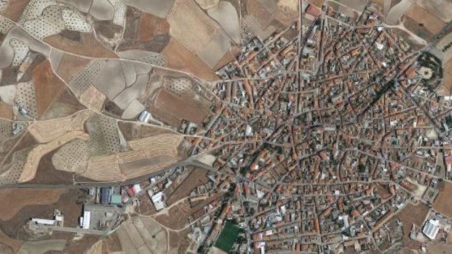Vista aérea de villaconejos