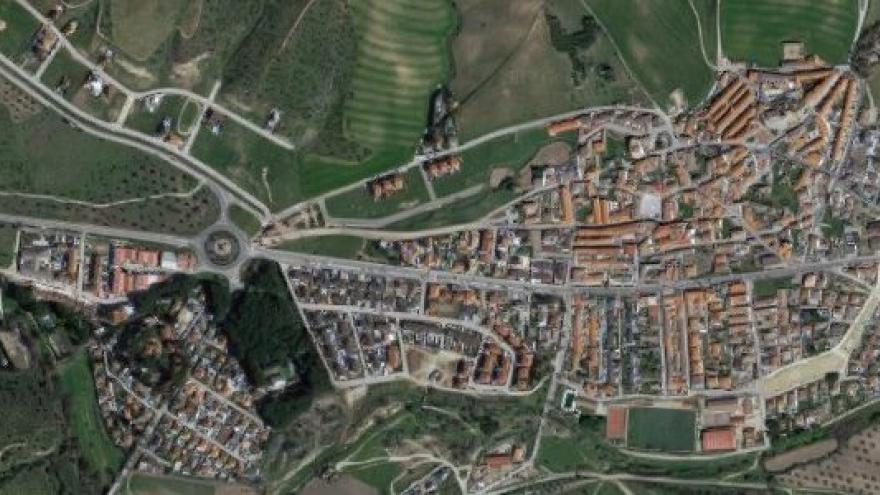 Vista aérea de villamanta