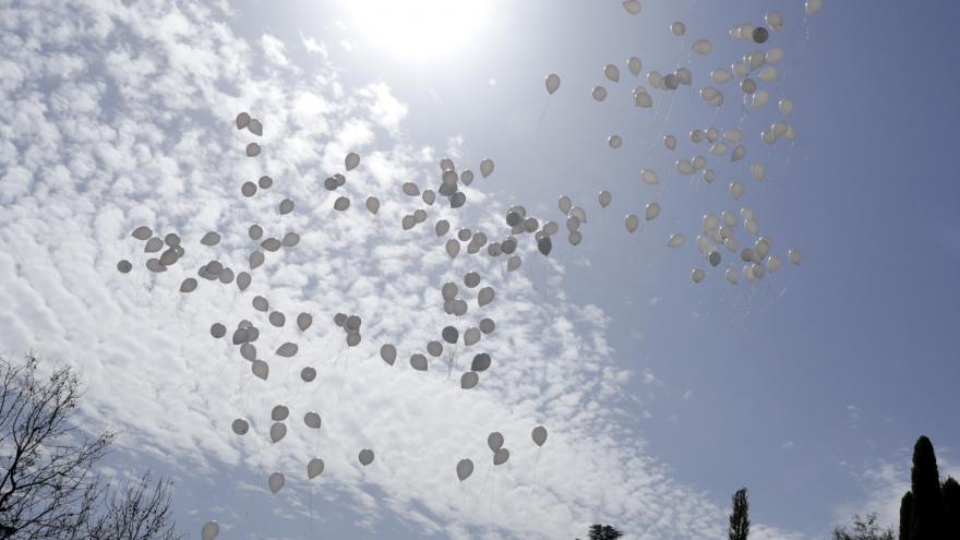 Homenaje a las Víctimas del Terrorismo en el Bosque del Recuerdo