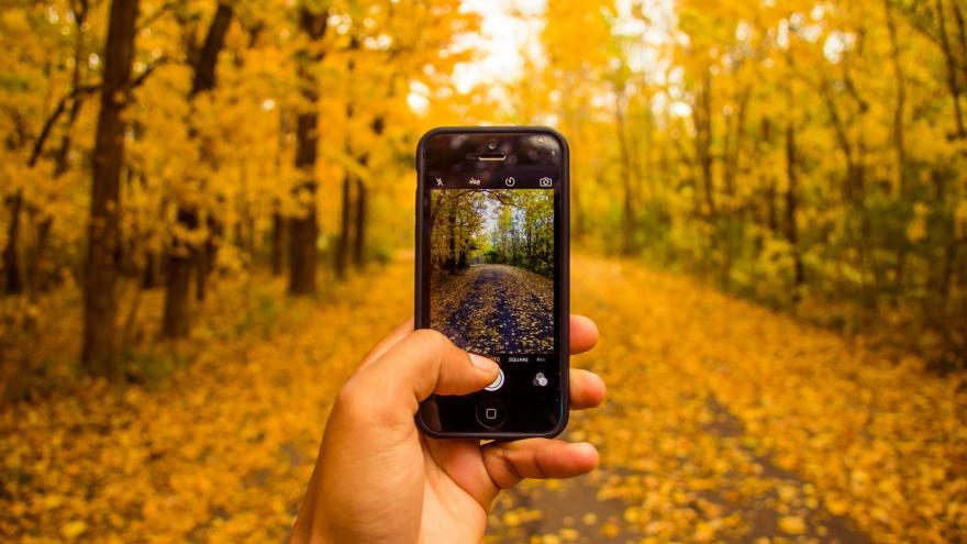 Imagen fotografía con móvil
