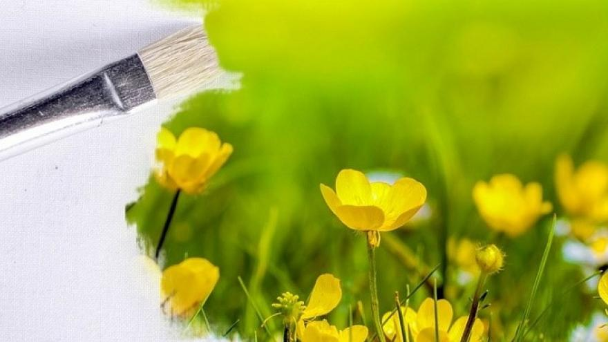 Pintura de primavera
