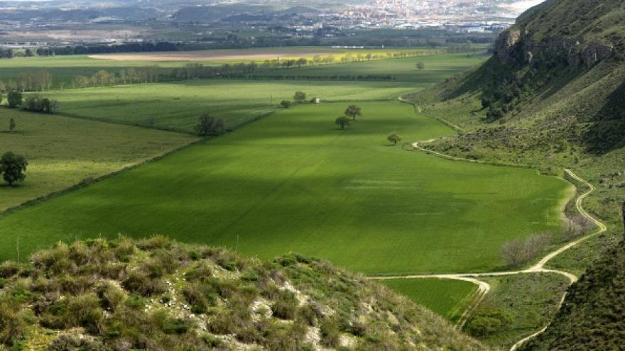 Vista panorámica de El Piúl