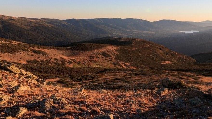 Vista panorámica de la Sierra