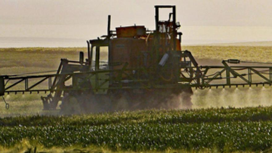 Aplicación de productos fitosanitarios en cultivos