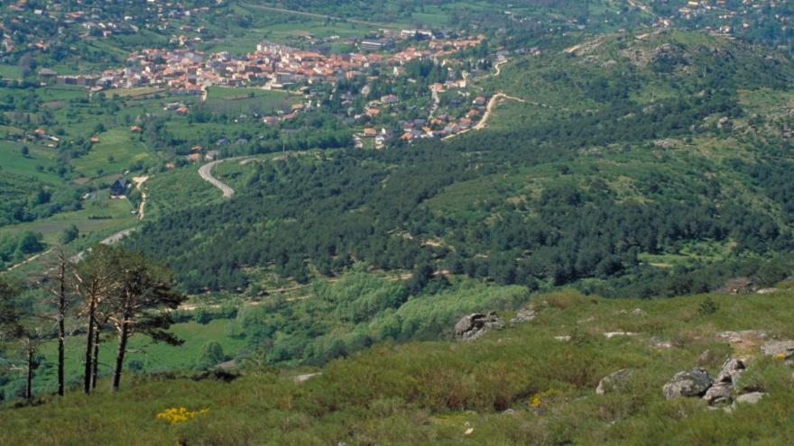 Vista panorámica del valle