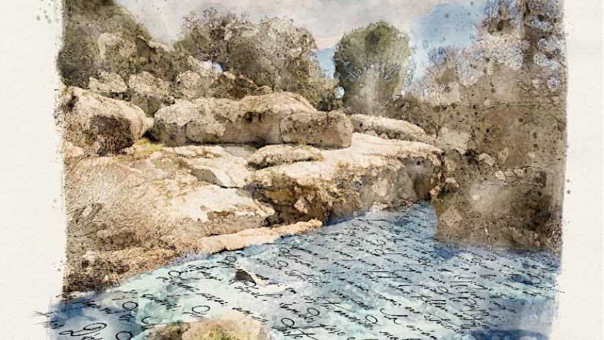 Visto de un río
