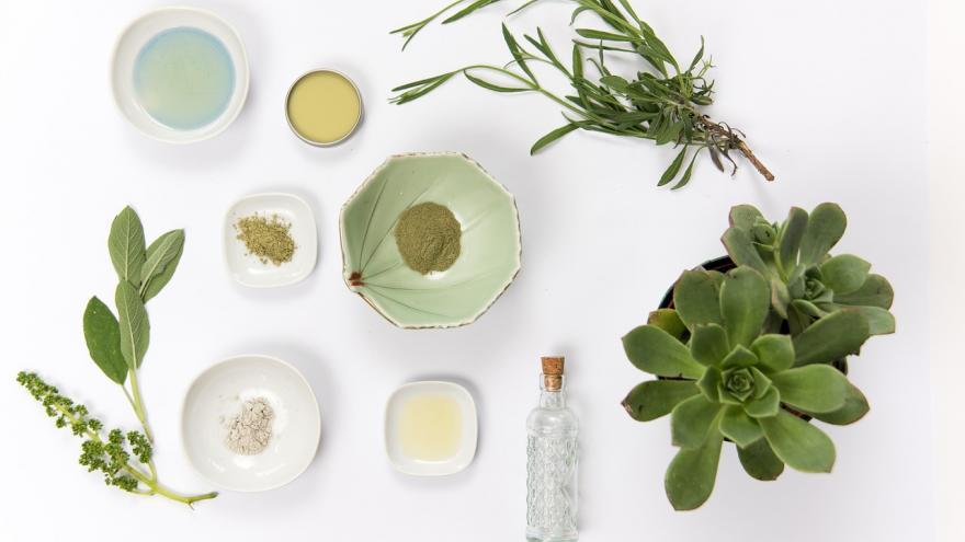 Plantas cosmética