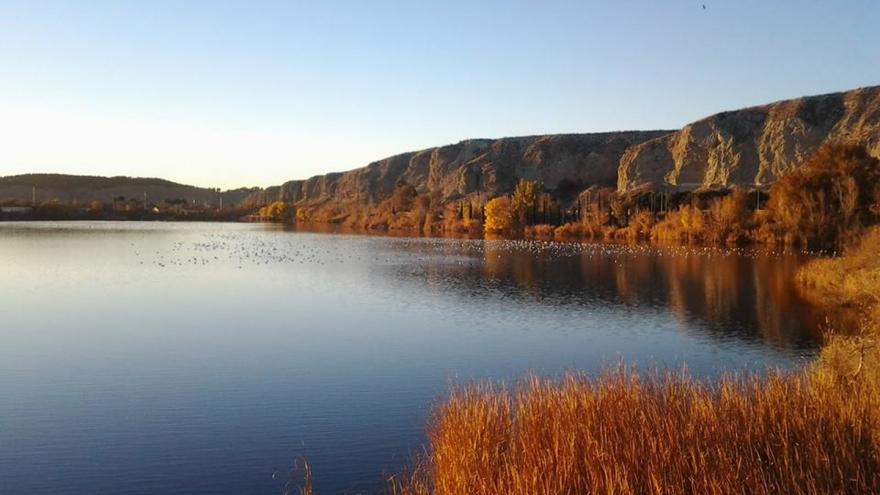 Laguna de El Campillo al atardecer